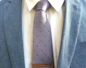 skinny tie men/'s wear anniversary gift gift under 25 wood men/'s gift Zebra Wood Tie Clip Skinny Wood Tie Bar Cedar