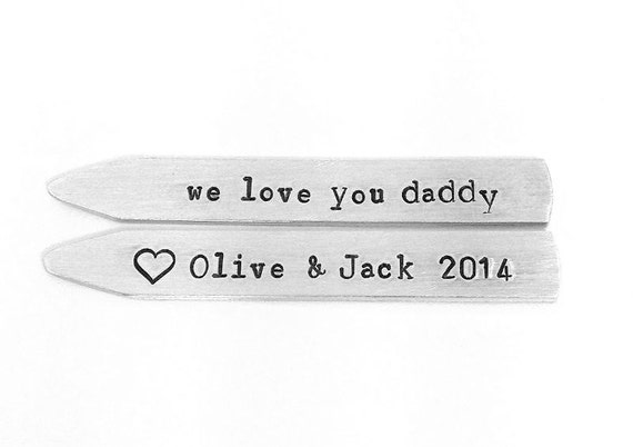 birthday gifts for dad first fathers day fathers day gift ideas engraved collar stays gifts for daddy