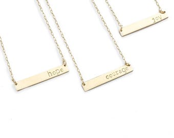 hope necklace for women, uplifting gifts, hope gifts, gifts for quarantine, gifts during pandemic,