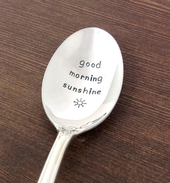 coffee spoon gift ideas for her gift under 20 morning sunshine daughter gift birthday gift for daughter