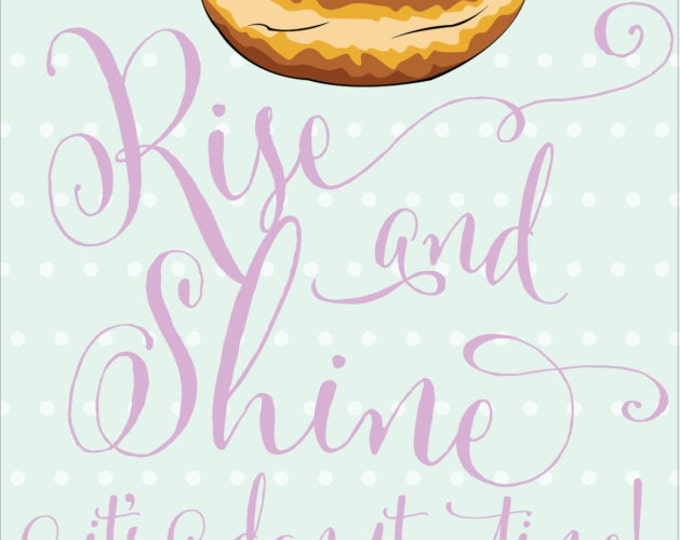 Delicious Donut| Birthday Invitation | Digital Download