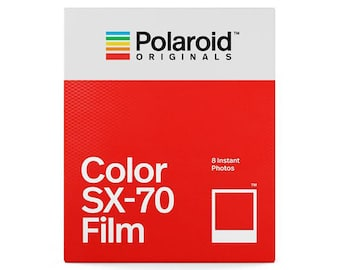 Polaroid Originals Color Film Pack for Polaroid SX-70 Series Cameras - Brand New In Sealed Package - 8 Photos  8 Pictures