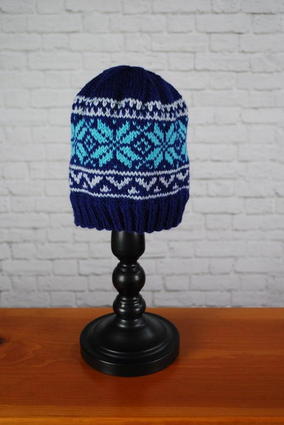 Norwegian Star Hat Ski Hat Hand Knit Ski Hat Knit Ski  fc32579c316