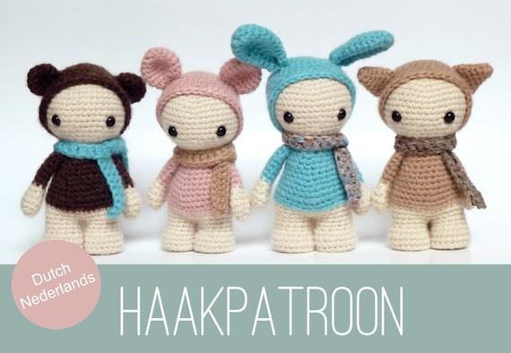 Pretty Bunny Amigurumi Crochet Bunny Doll Crocheted bunny   Etsy   394x570
