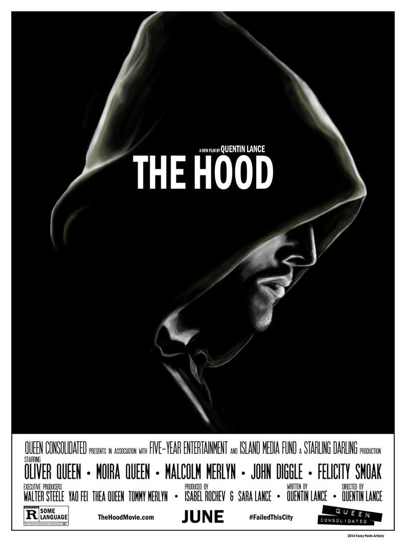 18x24 Quentin Lance/'s The Hood Poster