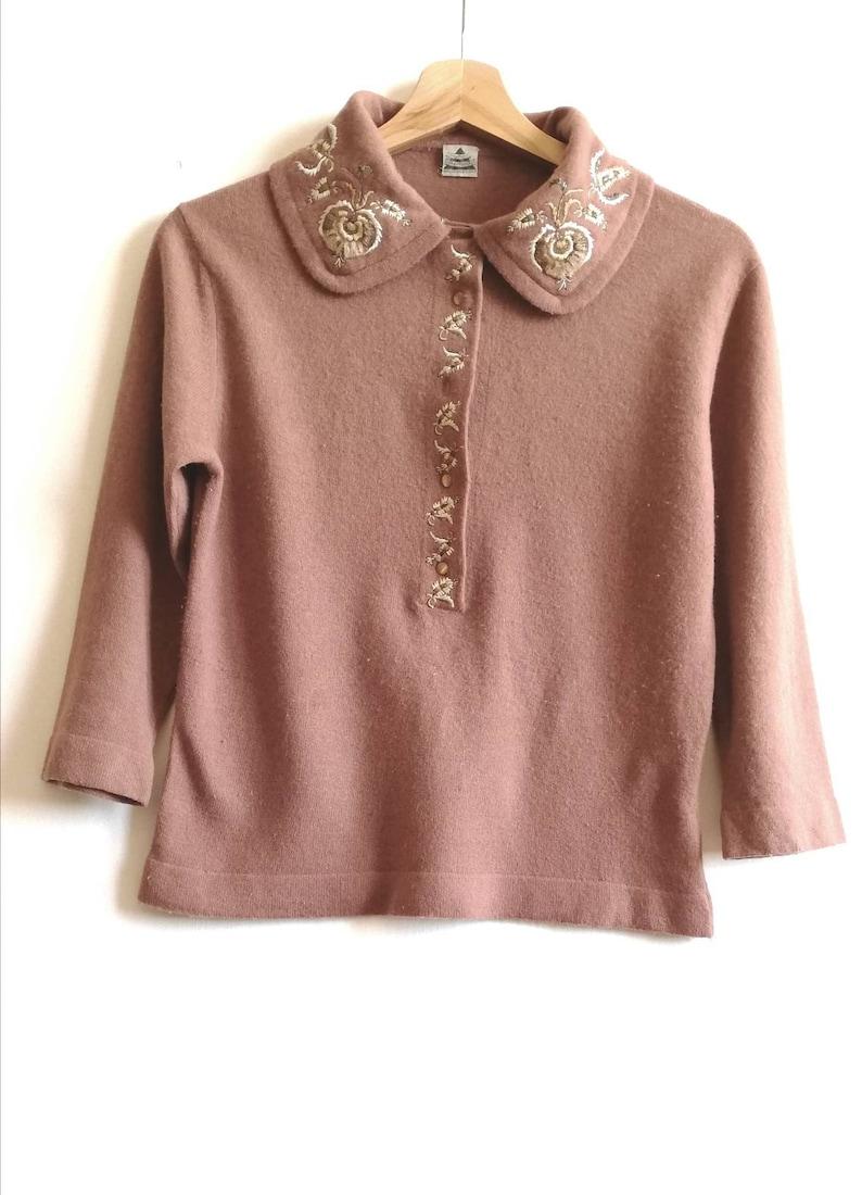 small Original Vintage cashmere Luisa Spagnoli sweater