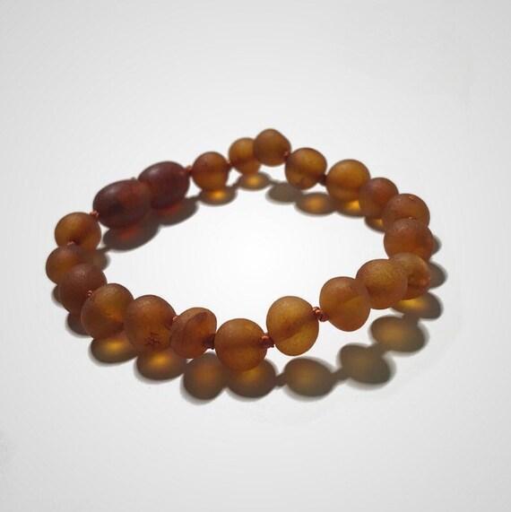 raw amber bracelet for baby
