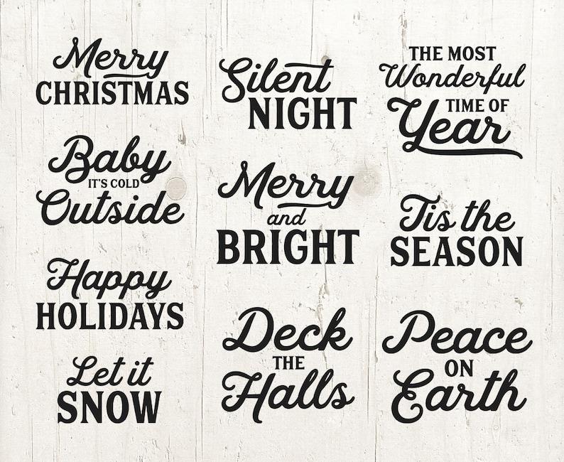 Weihnachten Wörter.10 Wort Overlays Weihnachten Phrasen Foto überlagern Text Foto Overlay Bundle Weihnachten Zitat Sprüche Foto Wörter Phrase Sofortigen