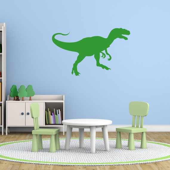 T-Rex Dinosaur Wall Sticker, Dinosaur Wall Decals, Boys Wall Art, Boys  Bedroom Wall Transfers - AN071