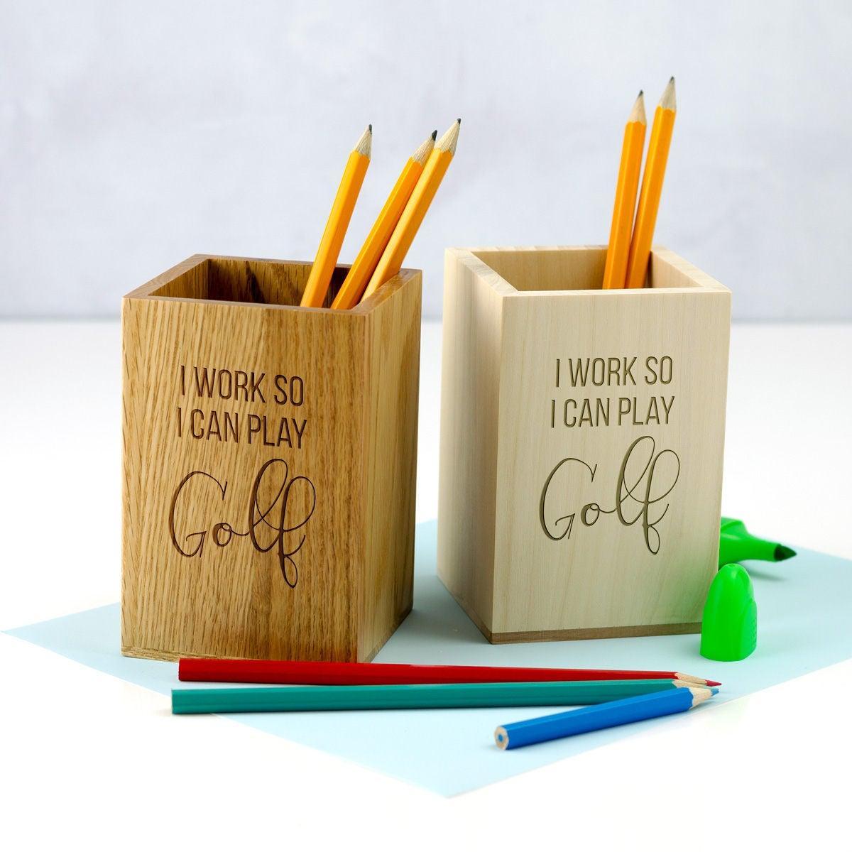 Stift-Halter lustige Golf Stift Topf Golf Geschenke   Etsy