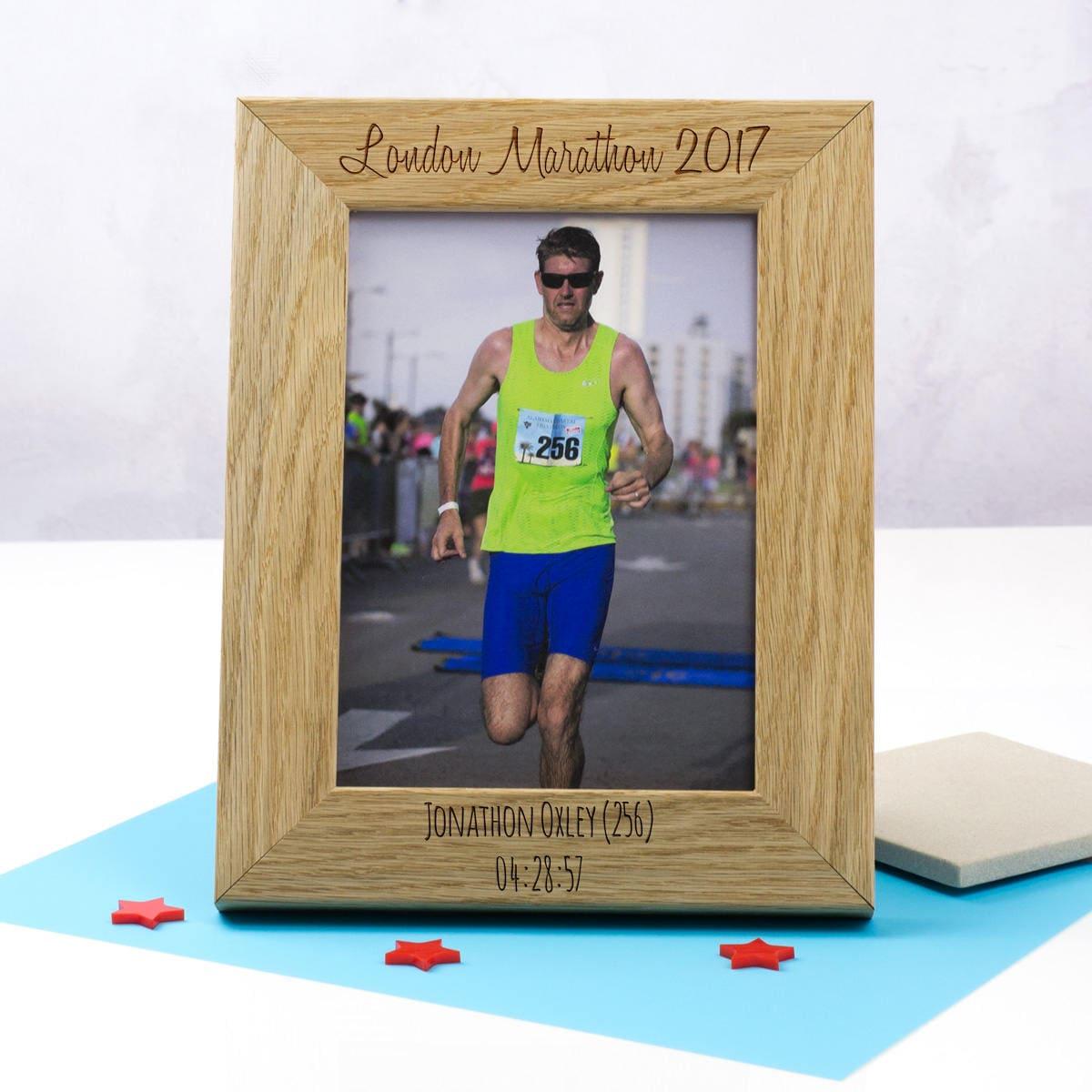 Sport-Event-Bilderrahmen personalisierte Marathon Rahmen | Etsy