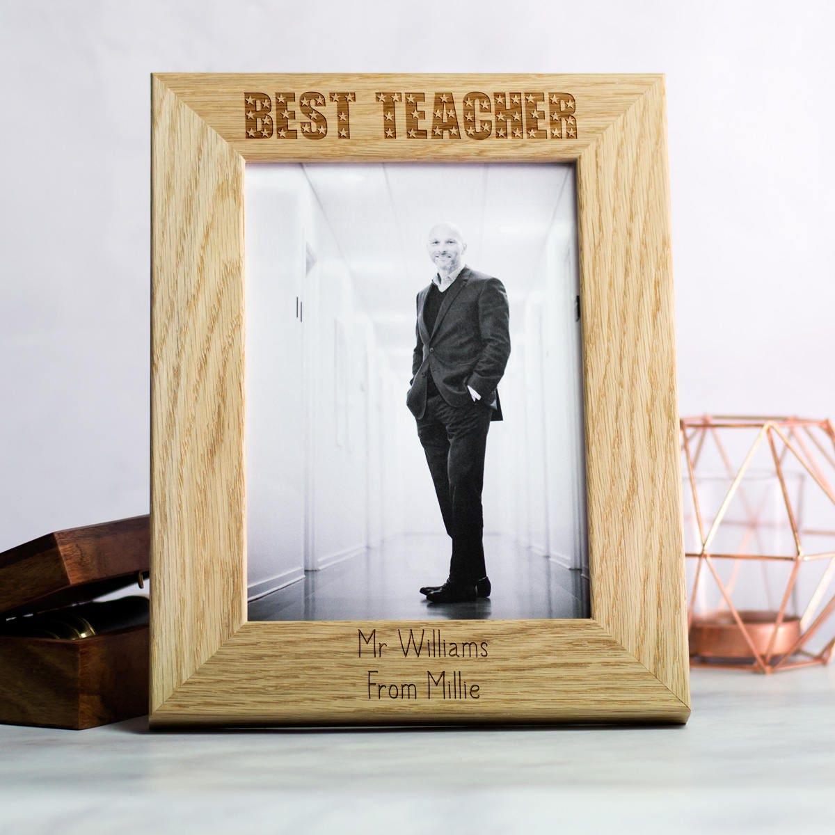 Personalisierte Foto-Rahmen beste Lehrer Lehrer Geschenke | Etsy