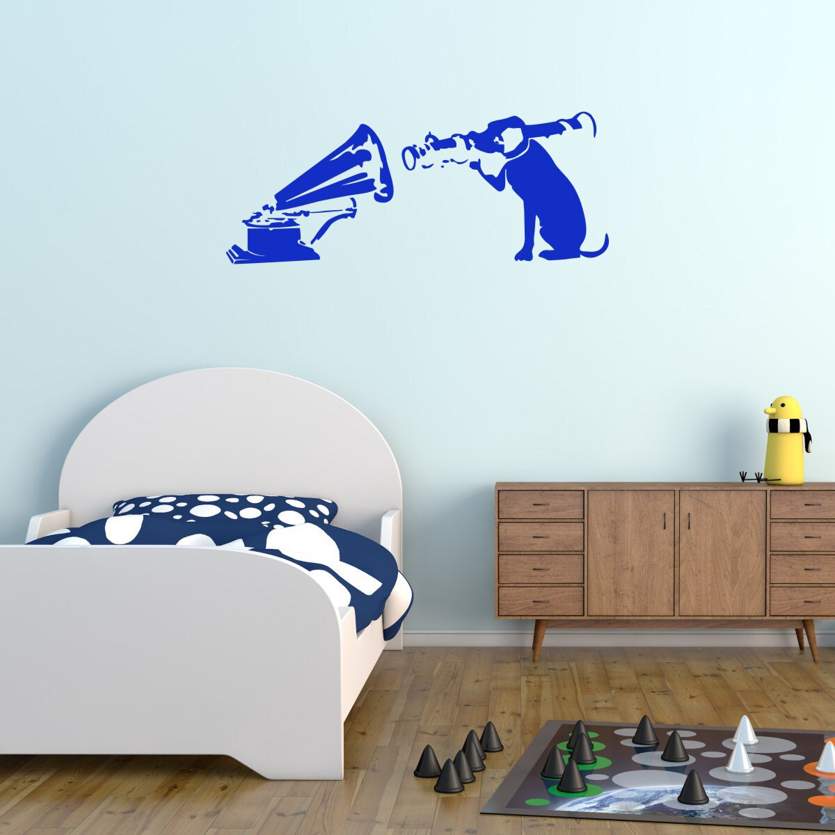 Banksy Wall Decal Blow Up Your Stereo Banksy Sticker Etsy