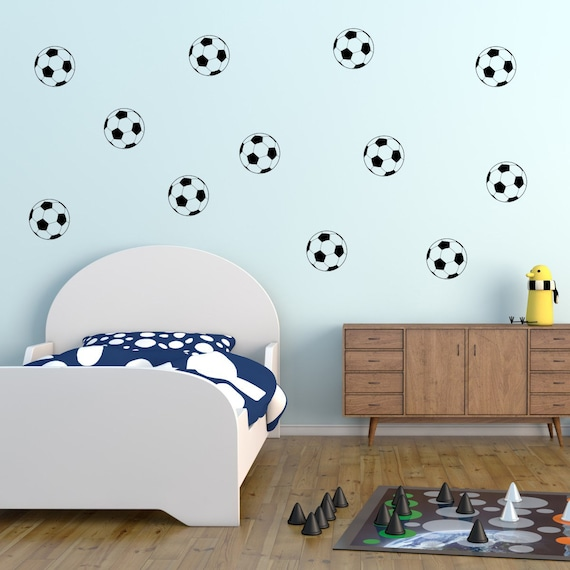 Football Wall Stickers, Football Wall Decals, Football Wall Art, Football  Wall Transfers, Sport Wall Stickers - MP009