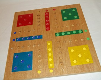 Back Up Three Marble Game 18 x18