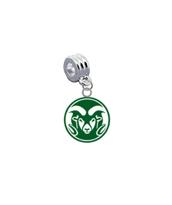 Colorado State Rams Breast Cancer Awareness Belly Button Navel Ring