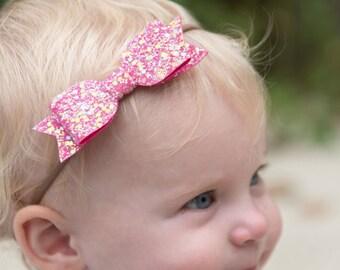 baby headband - baby girl - baby bow headband - baby girl headband - headbands - newborn headband - baby shower - baby bows