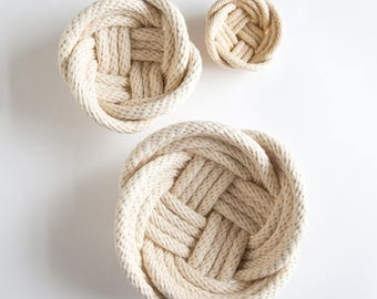 NAUTICAL ROPE Decorative bowl