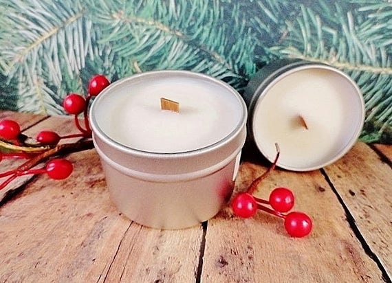 Frosted Winter Berry Tarts /& Votives Hand Poured Holiday Scents Soy Candles