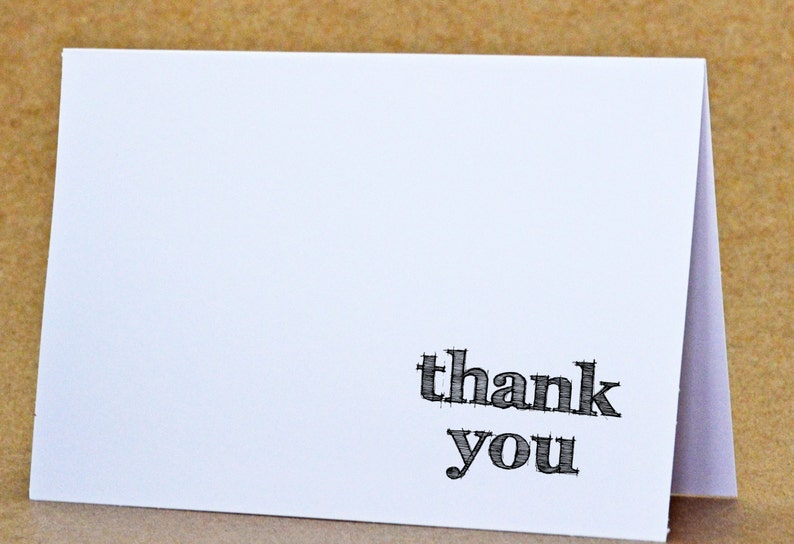 Thank You Stamp  Self Inking  Wedding Favors  Stationery  image 0