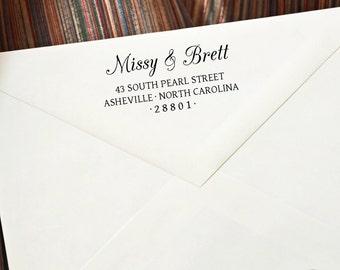 Stamp - Wedding stamp - Address Stamp - Wedding Gift - Custom Address Stamp - Self Inking Stamp - Bride Gift