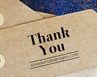 Thank You Stamp - Self Inking - Business Thank You Stamp - Etsy Business Stamp