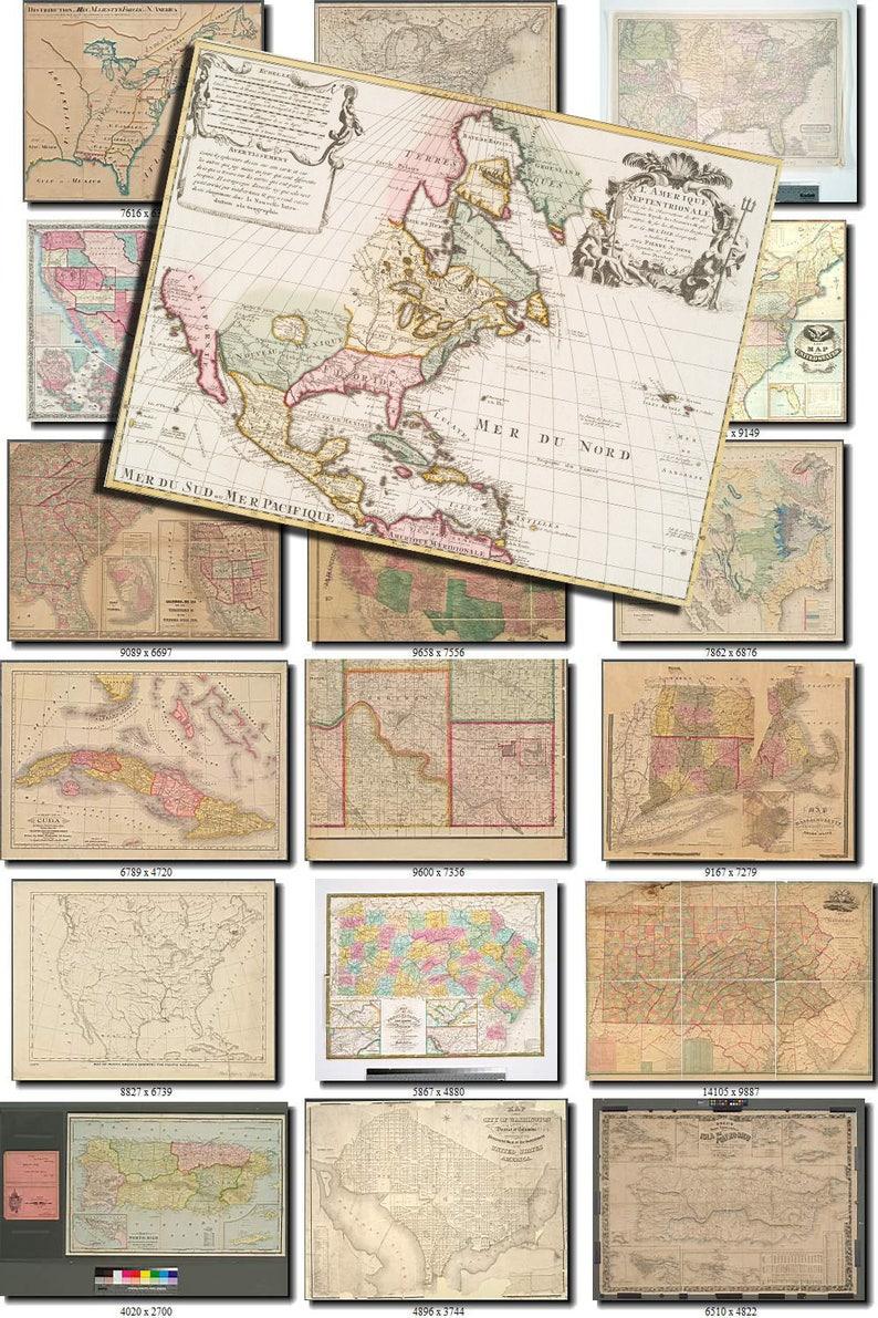 Lot 200 Plus Vintage Book Pages Collages Arts Crafts Ephemera Maps #118 Art Supplies