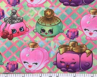 shopkins fabric