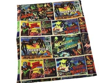 horror vintage   fabric