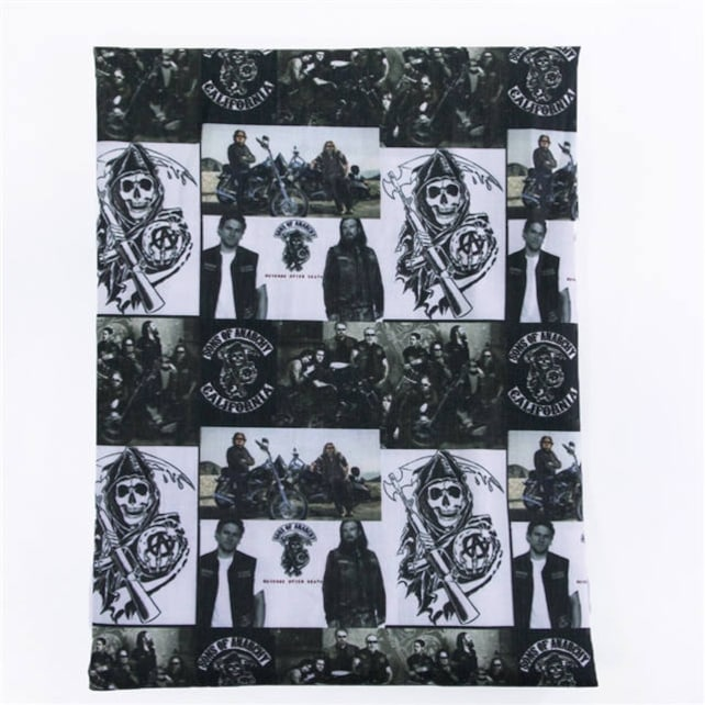 Sons Of Anarchy Fabric Etsy
