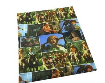 Pippi Longstocking fabric
