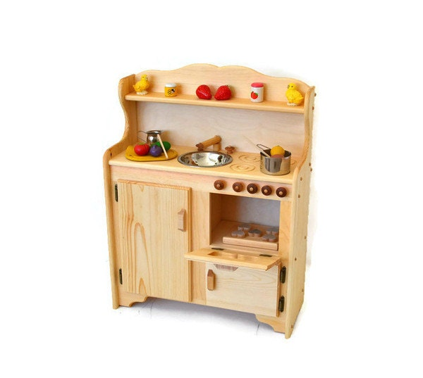 22 Foods You Can Regrow Again And Again From Kitchen: Waldorf Child's Kitchen-Wooden Play Kitchen Wooden Toy