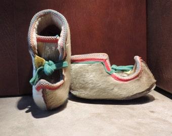 Vintage Winter Boots,Skandinavian Boots,Reindeer Fur Boots,Winter Boots