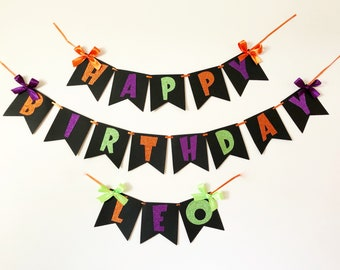 halloween birthday etsy
