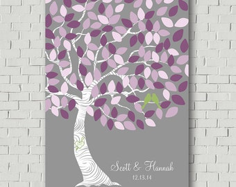 Wedding Tree Guest Book - Wedding Guestbook Sign - Unique Guestbook Ideas - Alternative Wedding Guestbook - Signature Tree Guestbook