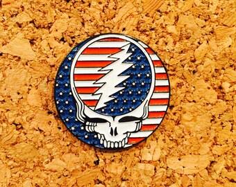 3fdda518fae Grateful dead 50 year hat pin