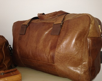 Weekend Bag,leather overnight bag, Leather holdall,weekender bag, leather weekender bag ,Overnight Bag