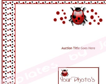Ladybug Auction Listing Template