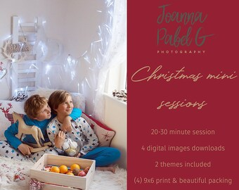 CHRISTMAS MINI SESSION, my home studio in Ardesier, Deposit