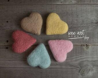 Tiny pastel heart