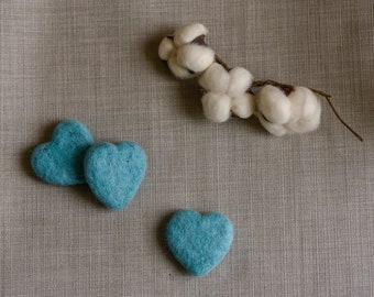 Tiny  turquoise heart , Photography Prop, newborn props