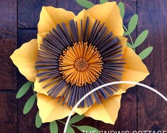 Instant Download Svg Paper Flower Petal Template For Petal 20 Etsy