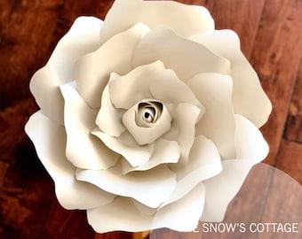 instant download rose 2 svg large paper flower rose petal etsy