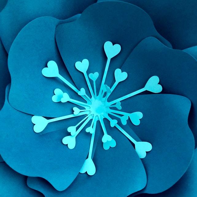 Instant Download SVG Petal 11 Paper Flower Petal Template DIY   Etsy