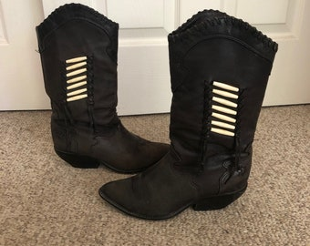 55b218572d0 Cowboy boot zodiac | Etsy