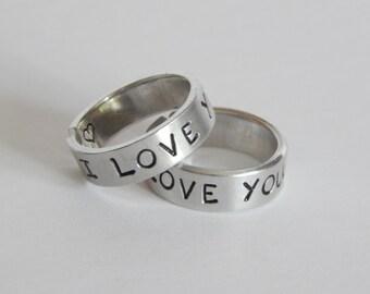 Love Rings Etsy