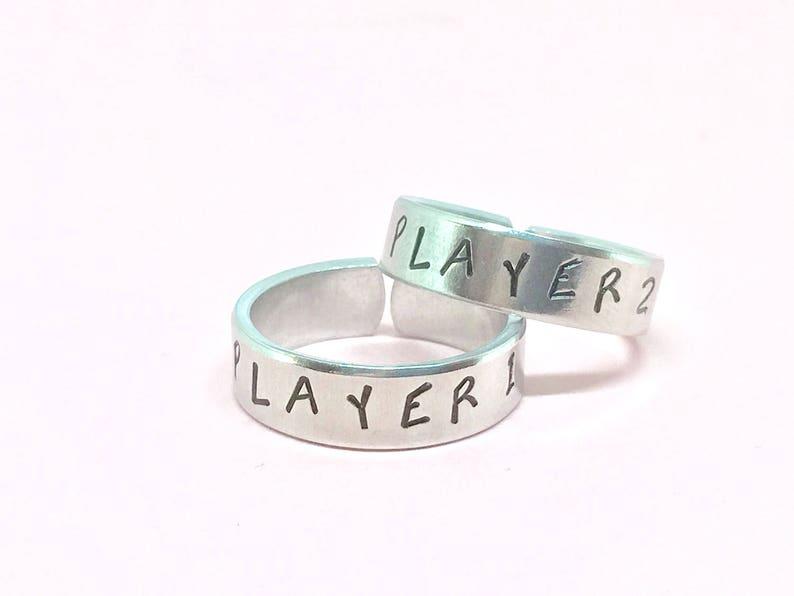 Player 1 Player 2 Ring Set,