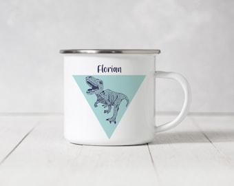 Enamel Mug - Dinosaur - 094