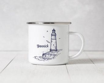 Enamel Mug - Lighthouse - 063