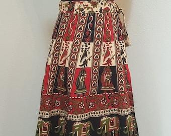 Killer 1950s Vintage Rainbow Taffeta striped skirt by Designer Emmy Richards taffeta vintage skirt Rainbow skirt 1950s skirt womens vintage